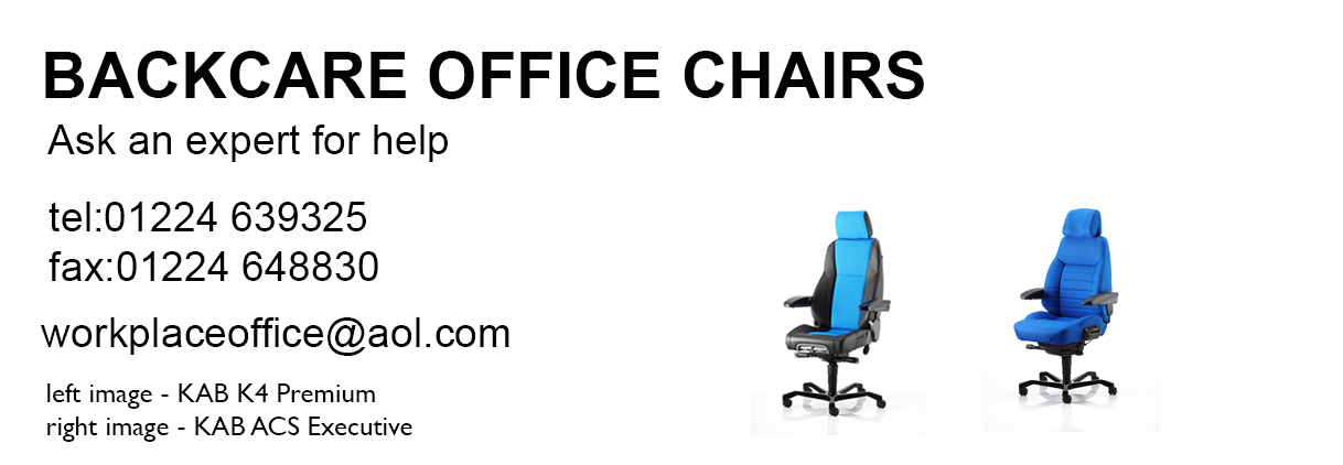 Backcare Office Chairs header image