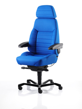 KAB Executive chair in fabric